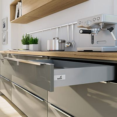 Kitchen Drawers From Hettich